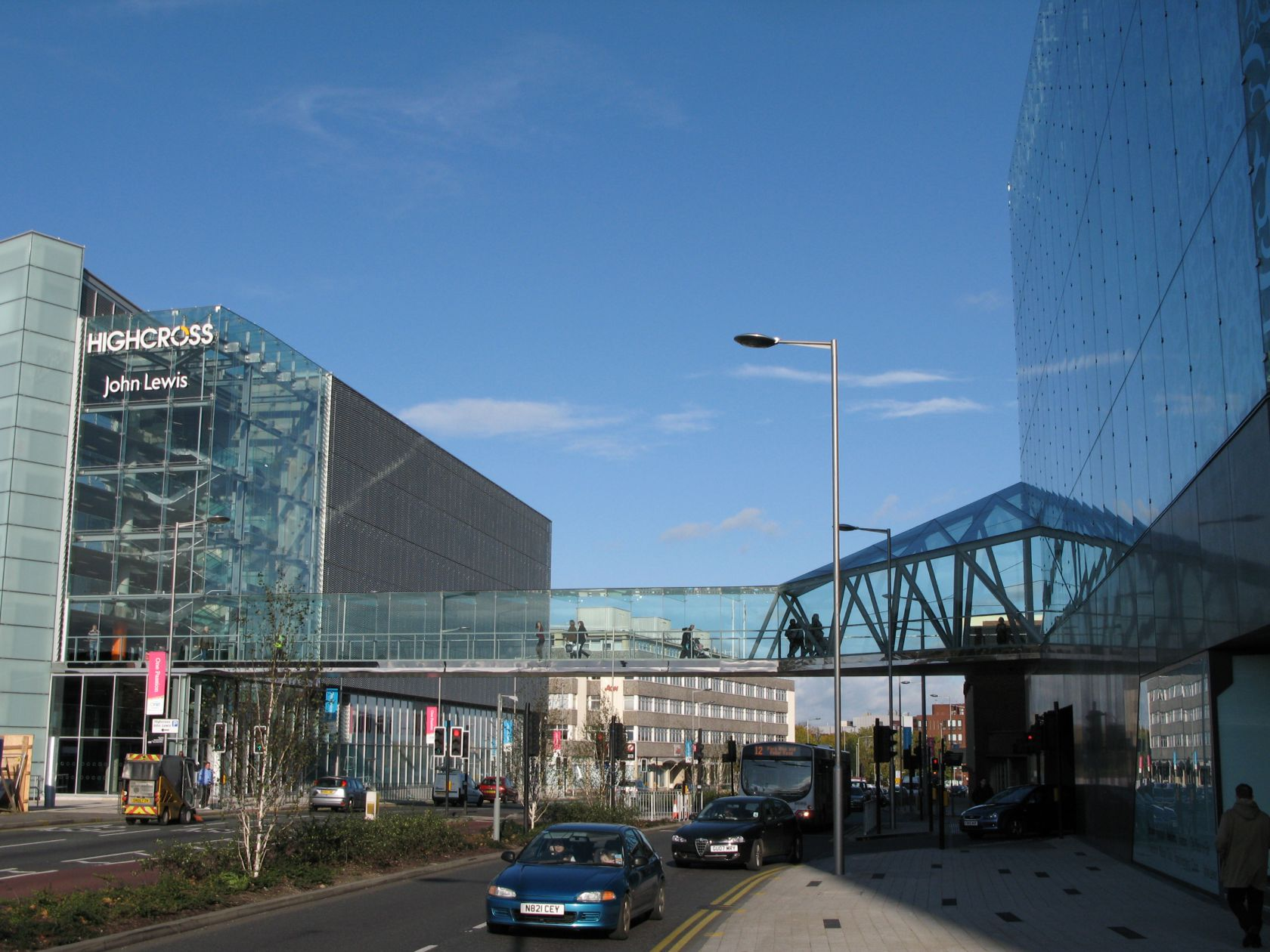 Highcross Retail Development Link Bridges Sh Structures