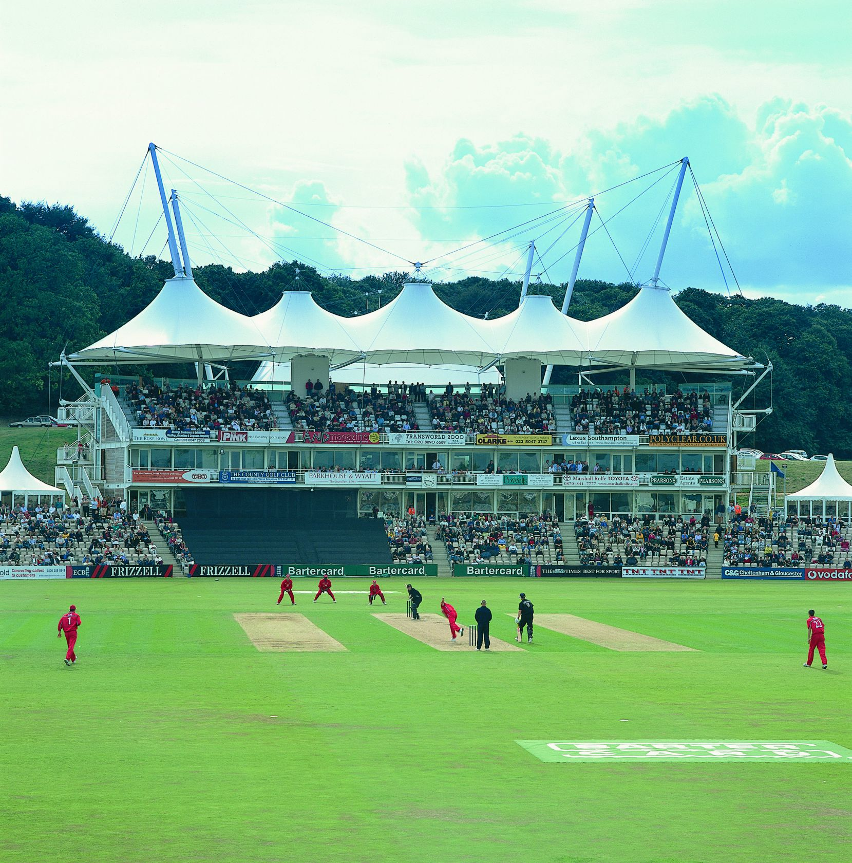 The Rose Bowl Cricket Pavilion Stand Sh Structures